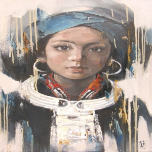 Artist Phuong Quoc Tri , young lady