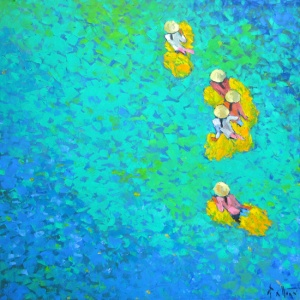 Do Xuan Doan , vietnam art , vietnam painting , vietnam artist , buy paintings online