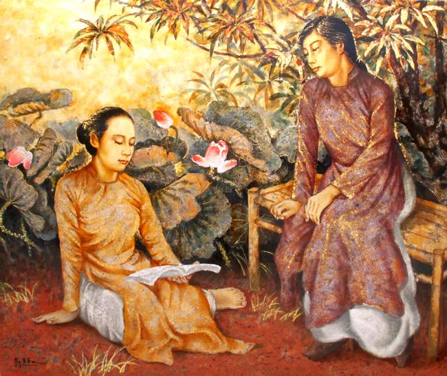 vietnam artist vietnam painting eye gallery online let choose