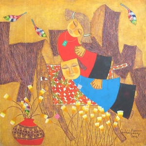 Ton That Bang , vietnam art , vietnam artist , vietnam painting , dream