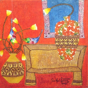Ton That Bang , vietnam art , vietnam artist , vietnam painting , still life